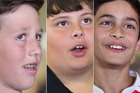 The video shows boys' reactions when asked to hit a girl. Photo / Counties Manukau Police Facebook
