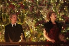 A scene from the Doctor Who Christmas Special.