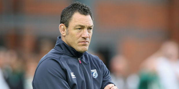 Mark Hammett, pictured in his role with the Cardiff Blues. Photo / Getty