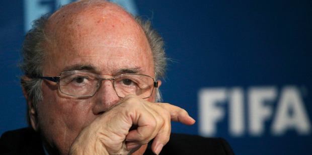 FIFA's ethics committee has banned Sepp Blatter for eight years from all soccer-related activities. Photo / AP