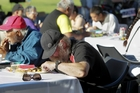 There are more poor and homeless people now needing help such as free meals on Christmas Day.