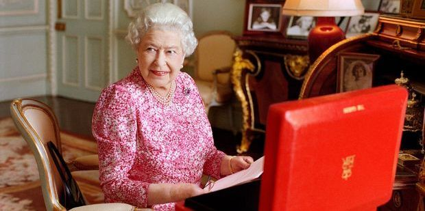 Queen Elizabeth II became the longest-reigning British monarch. Photo / AP