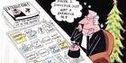 View: Cartoon: Dotcom flying chess