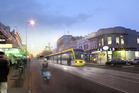 Artist impression of LRT on Dominion Rd. Photo / Supplied