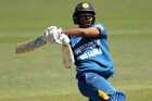 Danushka Gunathilaka bats during the third ODI. Photo / Getty Images