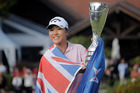 Lydia Ko won her first major in 2015 ... the, er, um ... something or other ... Photo / AP