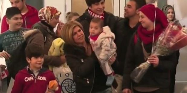Mohammed Kurdi, his wife and their five children arrived in Canada as refugee.
