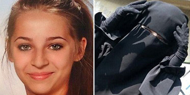 Samra Kesinovic became a poster girl for Isis. Photos / Supplied