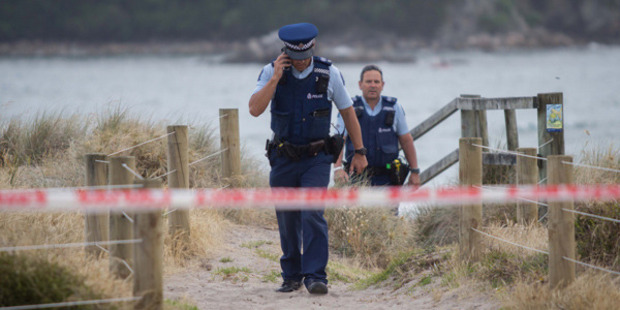 Police said the body was found about 6.20am. Photo: SNPA / Cameron Avery