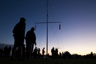 A full house at the Treaty Grounds' dawn service on Waitangi Day. Photo / Jason Oxenham