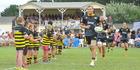 Tui-Brewery Super 15 Pre-Season Season Rugby Match