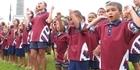 Horeke kids welcome Governor-General