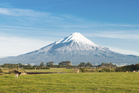 Head up the famous Mt Taranaki for a spot of snowball throwing. Photo / Thinkstock