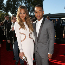 Grammy Awards 2015: Frocks that rock She's a model so it's her job to look like a megababe, but once again Chrissy Teigen kills it this awards season. John Legend must be stoked.