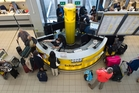 At Amsterdam's Schiphol airport, security screening equipment has been designed to look  less intimidating.