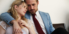 A scene from the movie Blue Valentine starring Michelle Williams and Ryan Gosling.