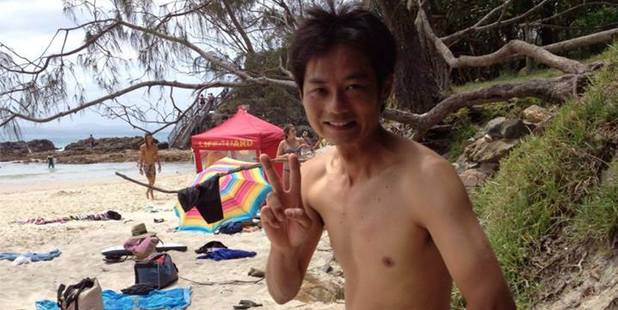 Shark attack victim Tadashi Nakahara was a well-liked local surfer. Photo / Facebook