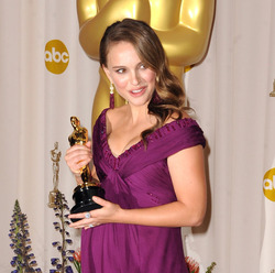 Oscars: 20 years of Best Actress dresses 2010: Natalie Portman for Black Swan. Photo / Getty Images
