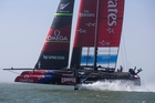 Team NZ's bid to host the qualifying series faces late competition from a Sydney consortium which has made a more financially compelling pitch. The deadline for a decision passes today. Photo / Brett Phibbs