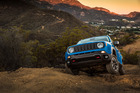 The Renegade shows its pedigree off the road.