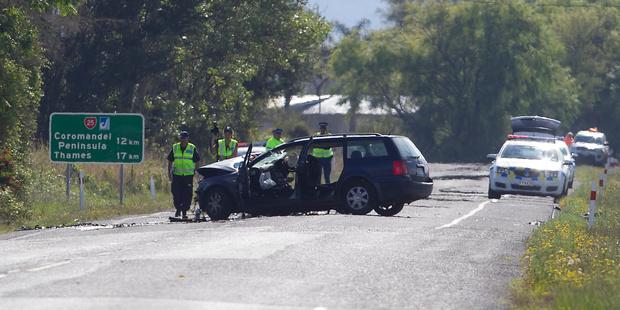 Head-on crash kills two female tourists