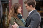 Fifty Shades of Grey stars Dakota Johnson and Jamie Dornan.