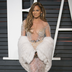 Oscars: Vanity Fair after party Jennifer Lopez. Photo / Getty Images