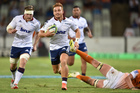 Ihaia West of the Blues during the Super Rugby match against the Cheetahs. Photo / Getty Images