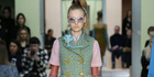 View: Prada at Milan Fashion Week