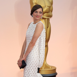 Leading ladies in Dior Marion Cotillard wearing Dior at the 87th Annual Academy Awards. Photo / Getty Images