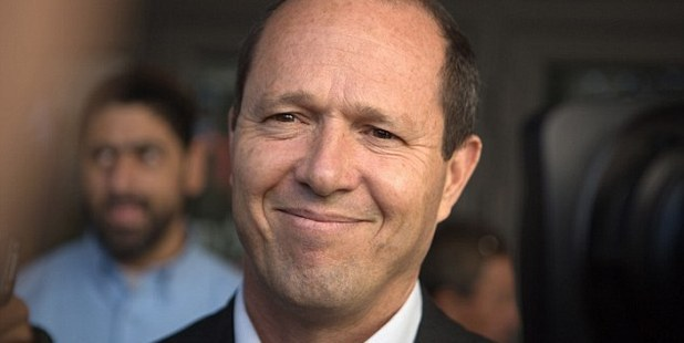 Nir Barkat was driving through Jerusalem when he saw the ultra-Orthodox Jew being attacked. Photo / AFP