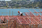There were 2824 new dwellings consented nationally in July 2015, up 24 per cent compared with July 2014, Statistics New Zealand said today. Photo / Mark Mitchell