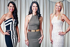 Rosie Kininmonth, Danielle Beston and Chrystal Chenery are three of the contestants in The Bachelor NZ.