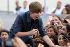 A fresh-faced Justin Bieber hits fame after YouTube videos uploaded by his mother in 2007 attracted the attention of his now manager. Photo / Getty