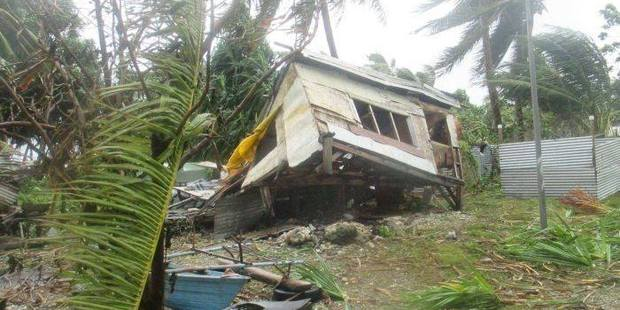 The destructive power of Cyclone Ula has already been felt. Photo / Facebook