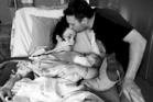 Rebecca Hyndman, Jeff Hyndman and their son Ben. Photo / givealittle