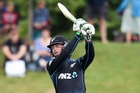Martin Guptill was again in striking form yesterday. Photo / Getty Images