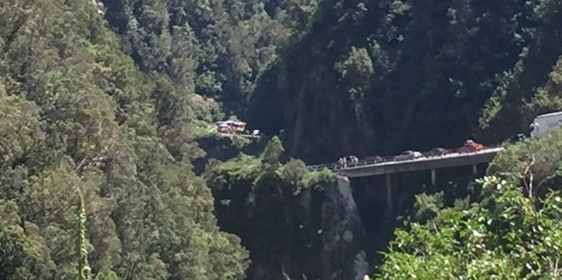 36 people were involved in the South Island crash yesterday. Photo / Jodi Gauci