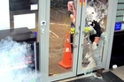 Armed men trying to break in and rob Mobil on East Tamaki Dr in South Auckland got more than they bargained for last month when the service station attendant activated a fog cannon. The anti-crime device fills a room with thick fog leaving zero visibility for anyone inside. The device is being used by an increasing number of retailers to thwart robberies.