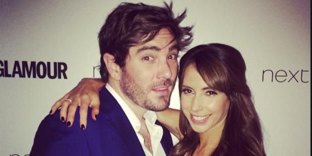 TV presenter Alex Jones and her fiance Charlie Thompson. Photo / Instagram / @alex_jones_oneshow