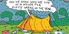 View: Cartoon: Typical Kiwi summer holiday