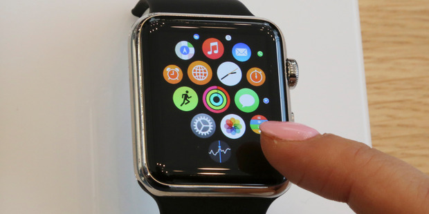The Apple Watch craze should be over by now. Photo / AP