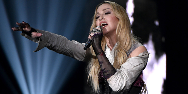 Madonna is set to come back and perform in New Zealand this coming March. Photo / AP