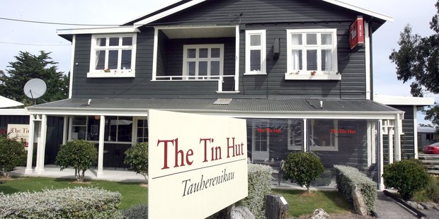 The Tin Hut in Tauherenikau has closed. PHOTO/FILE