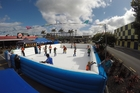 SKATES ON: A mobile artificial skating rink will be set up at Fraser Cove.PHOTO/SUPPLIED