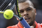 Jo-Wilfried Tsonga. Photo / AP
