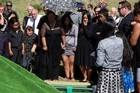 Funeral for Chantelle Giles at Patea