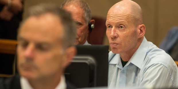 Russell John Tully in the High Court at Christchurch today. Photo / Pool