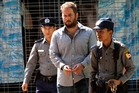 Philip Blackwood was jailed in Burma for insulting Buddhism after posting an online advertisement showing Buddha wearing headphones. Photo / AP