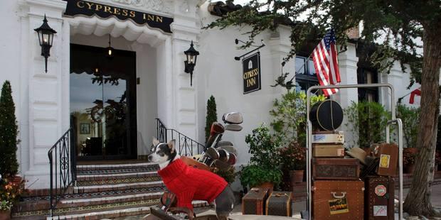 Doris Day's Cypress Inn is very animal-friendly. Photo /  Facebook